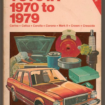1970-1979 - Chilton's Toyota Repair Manual - Classic Cars
