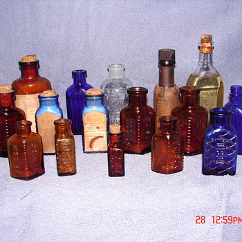 Antique Poison Bottles - Bottles