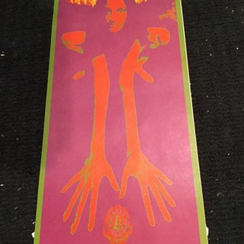 1967 Avalon Ballroom Country Joe & The Fish Concert Poster - Posters and Prints
