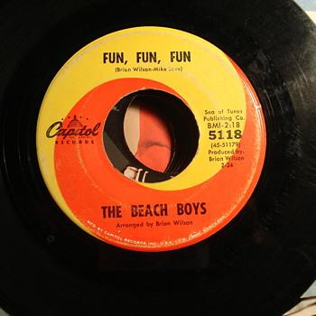 Fun, Fun, Fun - Records