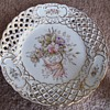 """Reticulated 6"""" Plate Stamped 5633"""