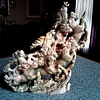 Fantastic Stampeding Horses Stone Sculpture / Asian Nephrite / Unknown Maker/ Mid 20th Century