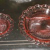 Anchor Hocking Relish Tray and Saucer Old Colony Pattern