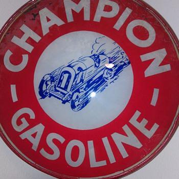 CHAMPION Gas Globe - Petroliana