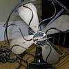 Western electric desk fan