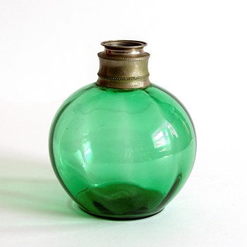 Small emerald green finger lamp - Lamps