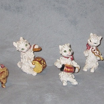 Spagetti Cats from Italy - Figurines