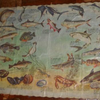 Fish menu - Fishing