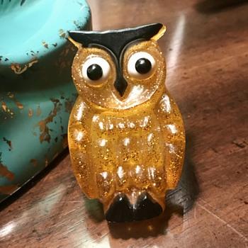 Vintage Owl Night Light Calcomp  - Animals