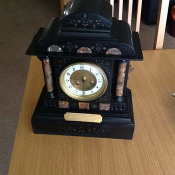 Antique Mantle Clock circa 1901