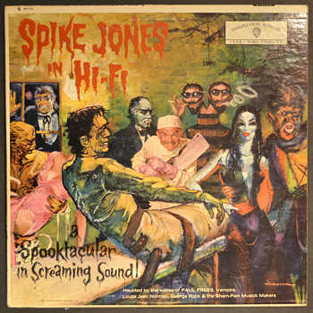 Spike Jones does Halloween - Records