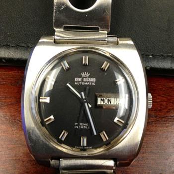 Vintage men's Rene Rochard watch