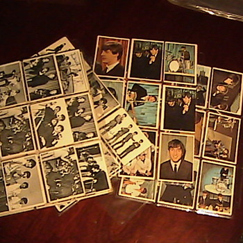Todays Goodwill Finds! Vintage Beatles Collectors Cards 1960's - Music Memorabilia