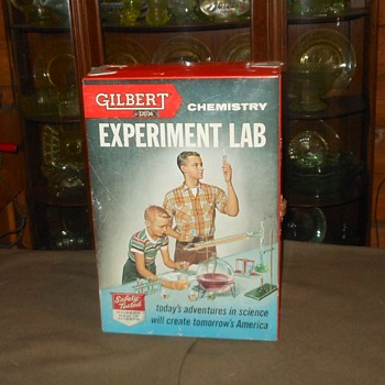 Gilbert Chemistry Experiment Lab Set No. 12036 1950s - Toys