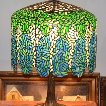 Heart Tiffany New London Conn. - Lamps