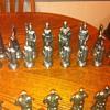 roman chess set