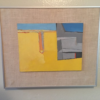 La More abstract modernist painting - Fine Art