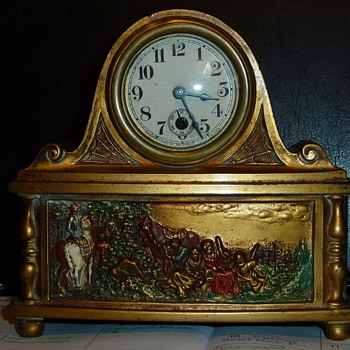 Very unique mantel clock