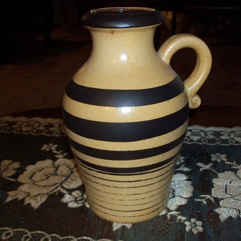 West German pottery I need a possible date - Pottery