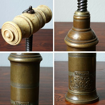 Thomason patent / Dowler corkscrew 19th century  - Kitchen