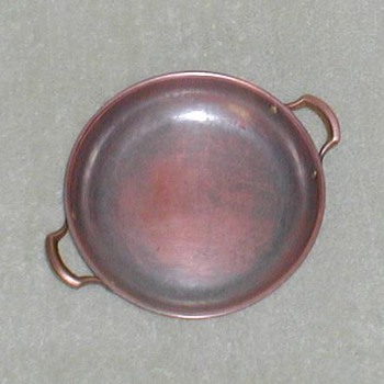 Copper Bowl with Handles - Kitchen