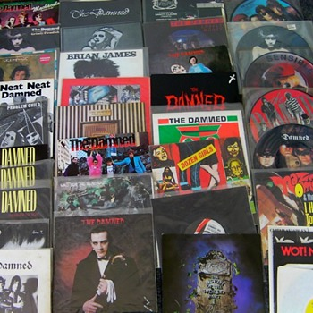 Damned 45s - Records