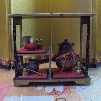 Daisu- accessories for tea ceremony - Dolls