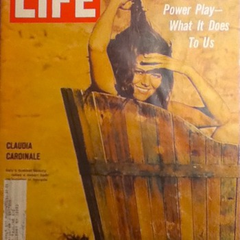 Life Magazine: Claudia Cardinale and De Gaulle's Power Play - Paper