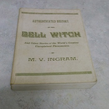 THE BELL WITCH 1961 REPRINT - Books