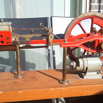 Dale Courtney & Frankenfield Balanced Slide Valve 1883 - Model Trains