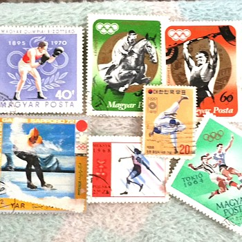 Olympics Frenzy - Stamps