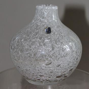 Zwiesel Germany Glass Vase - Art Glass