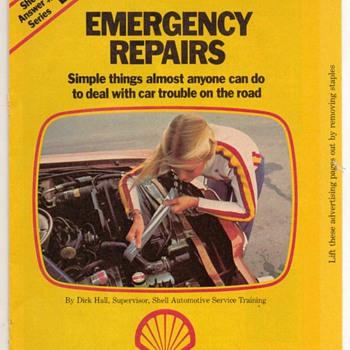1978 - Shell Oil Emergency Repair Booklet