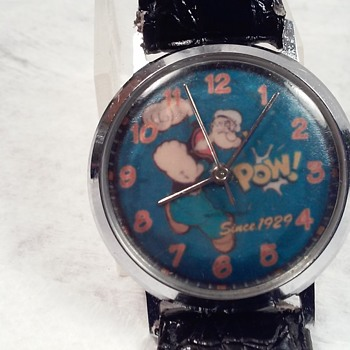 MECHANICAL POPEYE - Wristwatches