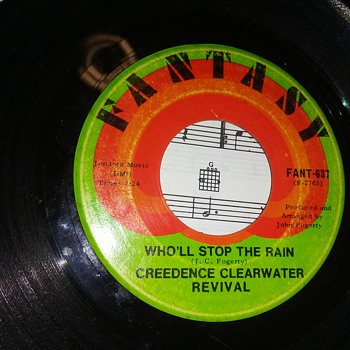 Creedence Clearwater Revival...On 45 RPM Vinyl - Records