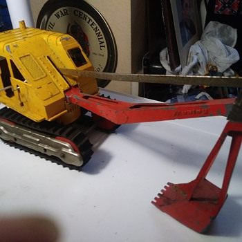 Hubley Power Shovel - Toys