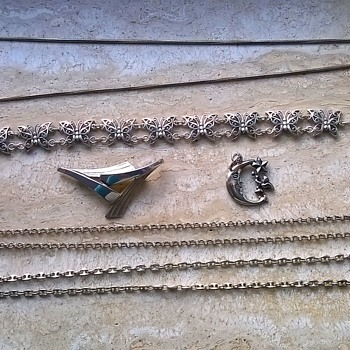 Flea Market & Thrift Shop Silver Finds - Silver
