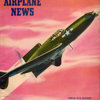 "1945 - ""Model Airplane News"" Magazine (July) - Paper"