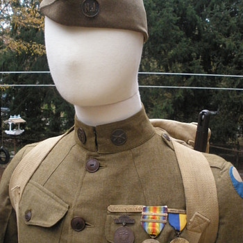 Happy Armistice Day! My American WWI uniform, more details. - Military and Wartime