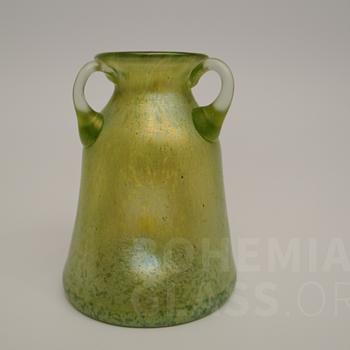 Loetz - Gelbgrün Ciselé - PN II-492 - Art Glass