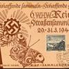 "1940 - German ""Winterhilfswerke"" Collector Card 1"