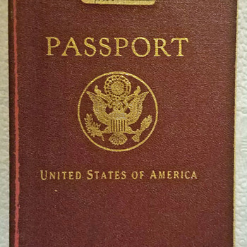 Unusual Low number USA passport - Paper