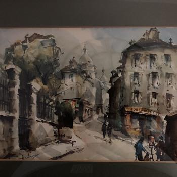 Watercolor  - Fine Art