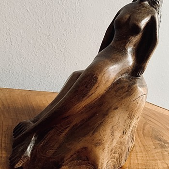 A mermaid made by a mariner maybe? - Fine Art