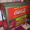Late 20's Early 30's Canadian Coca-Cola St. Thomas Ice Chest