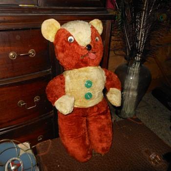 1940s Teddy Bear ........NEAT!