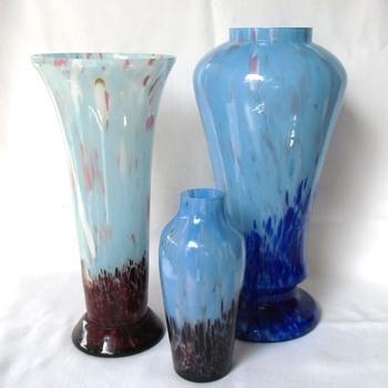 Another Kralik vs Ruckl Czech Glass Decor - Art Glass