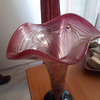Art glass maybe loetz - Art Glass