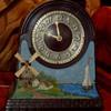 "Chronart ""Ye Olde Windmill"" Clock"