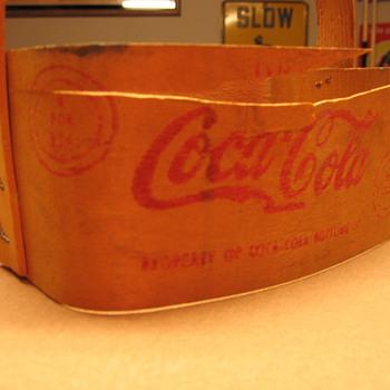 1940's Coca-Cola Bent Wood Six-pack